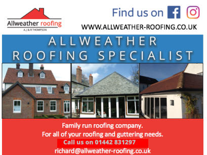 Call us on 01442 831297